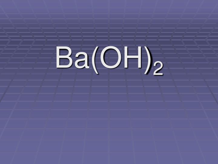 Ba(OH)