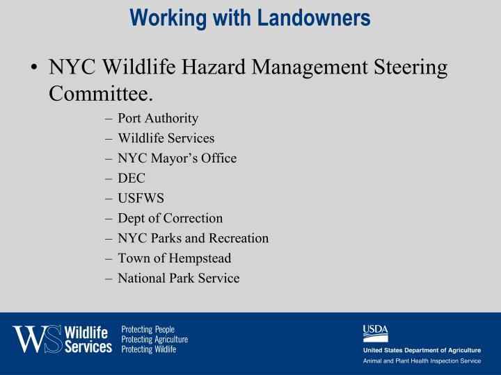 Working with Landowners