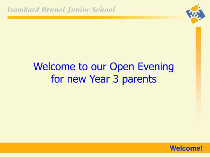 Welcome to our Open Evening