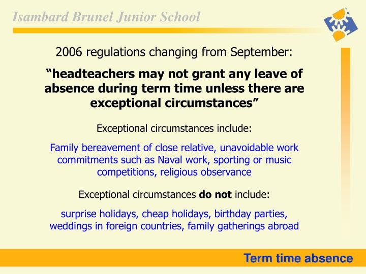 2006 regulations changing from September: