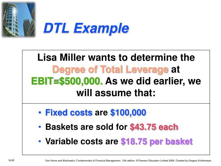 DTL Example
