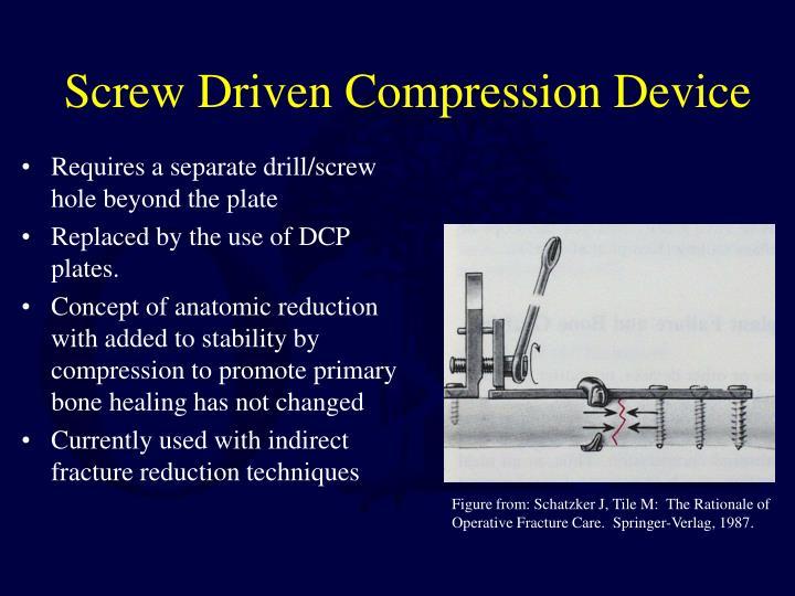 Screw Driven Compression Device