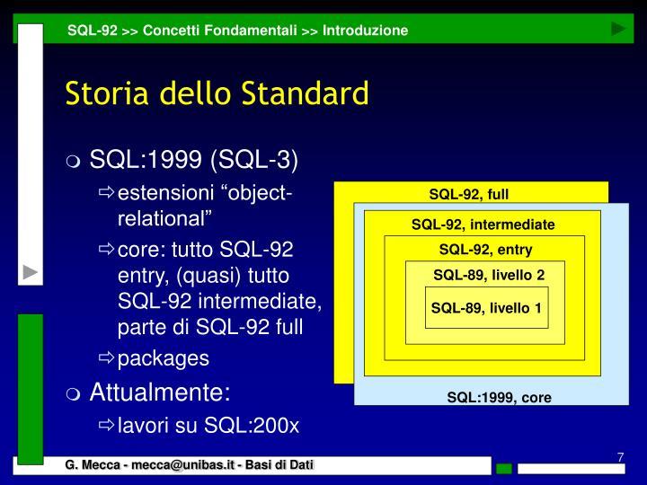 SQL:1999 (SQL-3)
