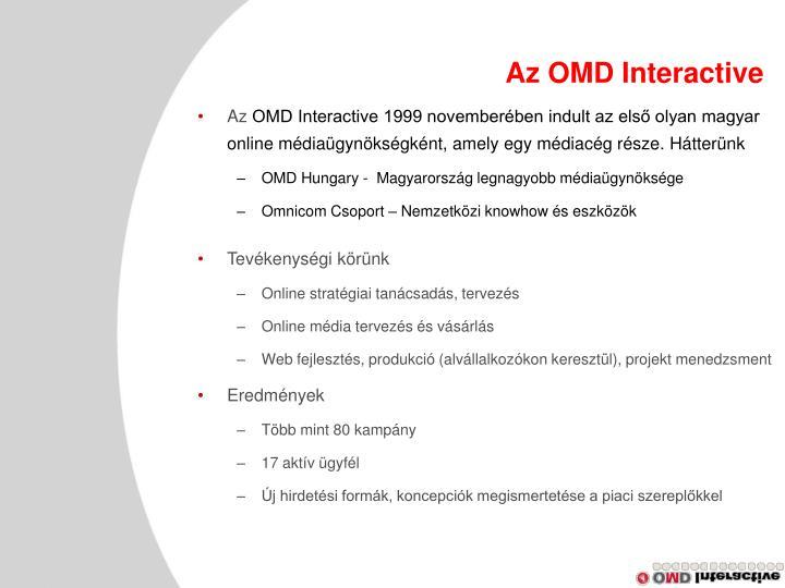 Az OMD Interactive