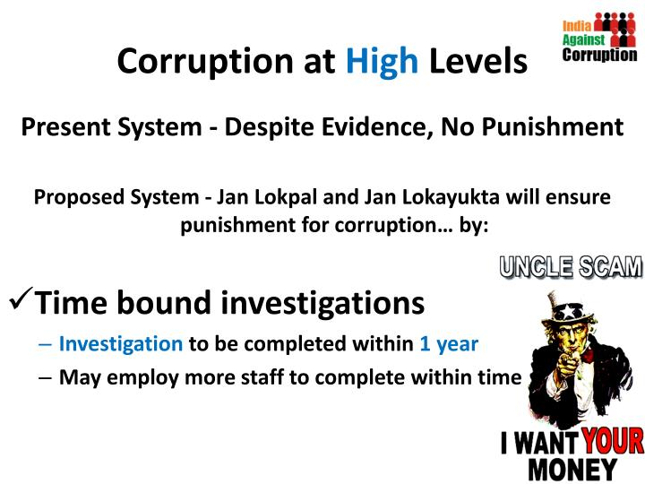 Corruption at