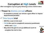 corruption at high levels1