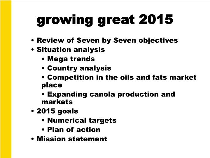 growing great 2015