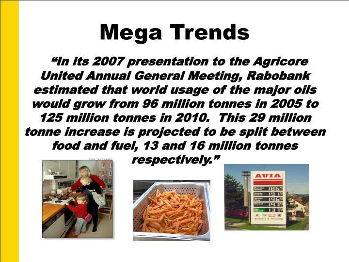 Mega Trends