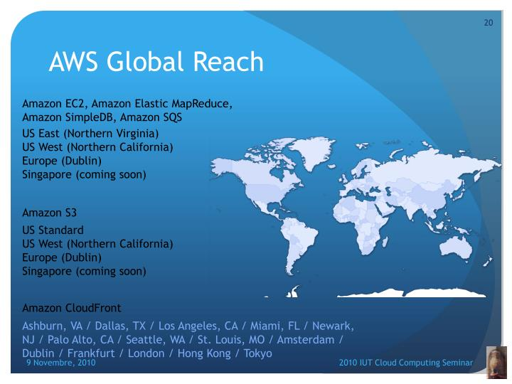 AWS Global Reach