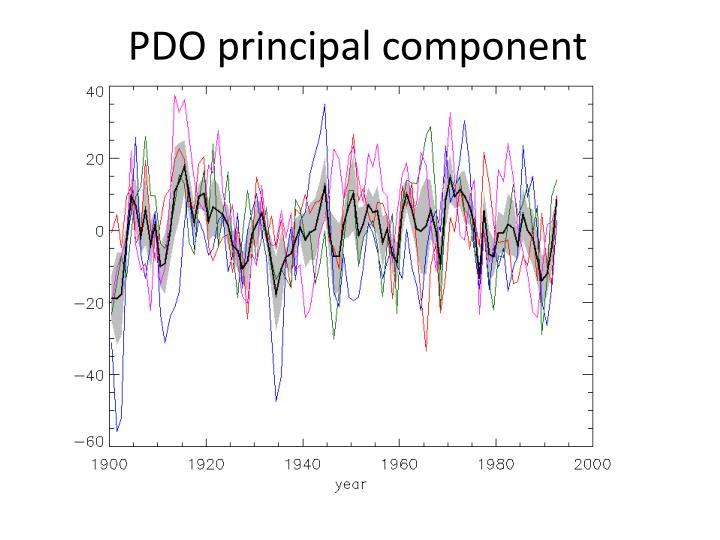 PDO principal component