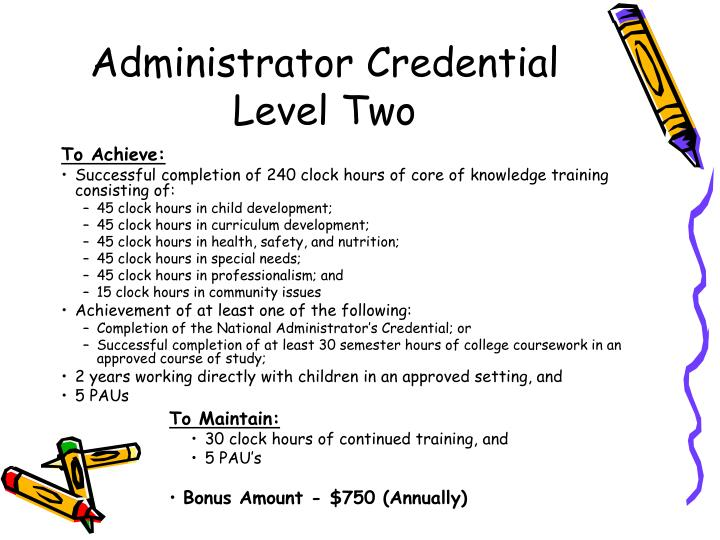 Administrator Credential