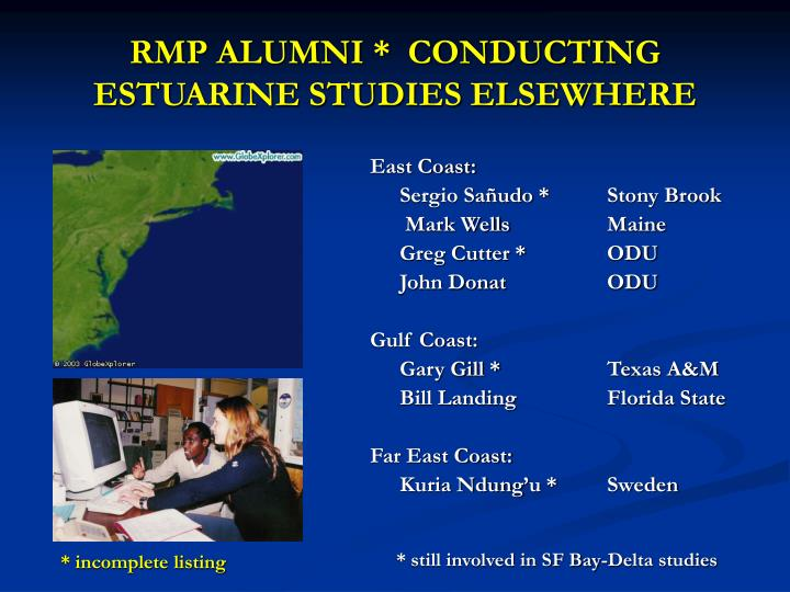 RMP ALUMNI *  CONDUCTING