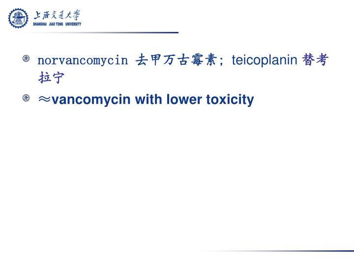 norvancomycin