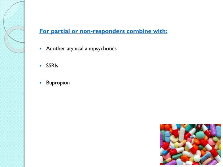 For partial or non-responders combine with: