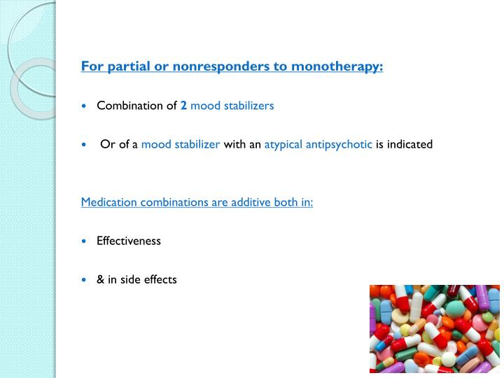 For partial or nonresponders to monotherapy: