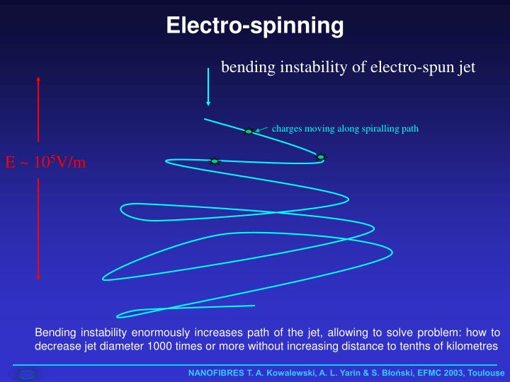 Electro-spinning