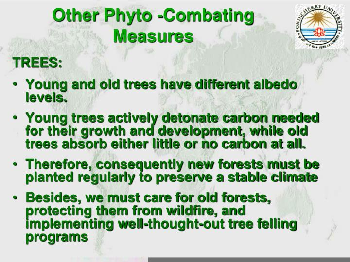 Other Phyto -Combating Measures