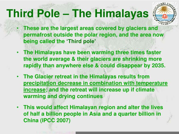 Third Pole – The Himalayas