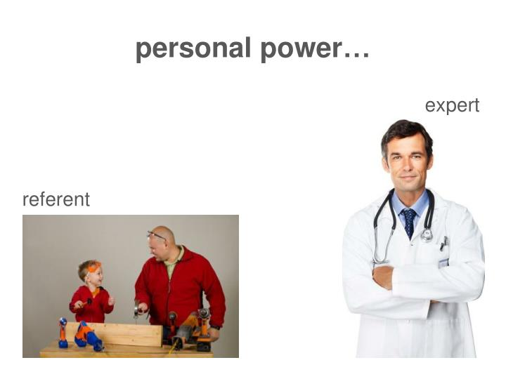 personal power…