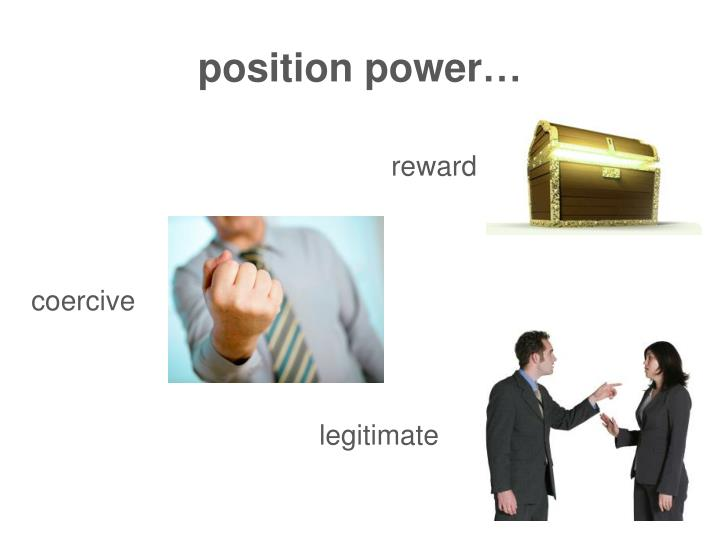 position power…