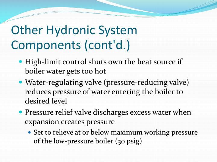 Boiler System: Boiler System Pressure Too High