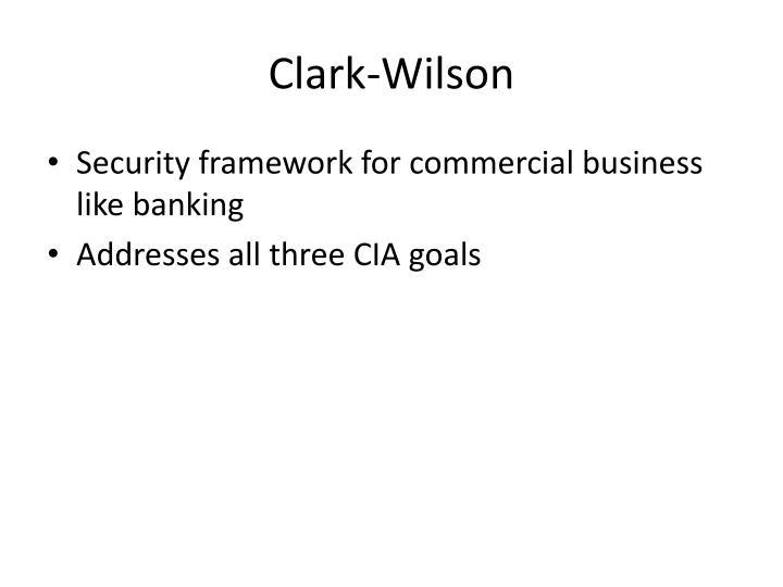 Clark-Wilson
