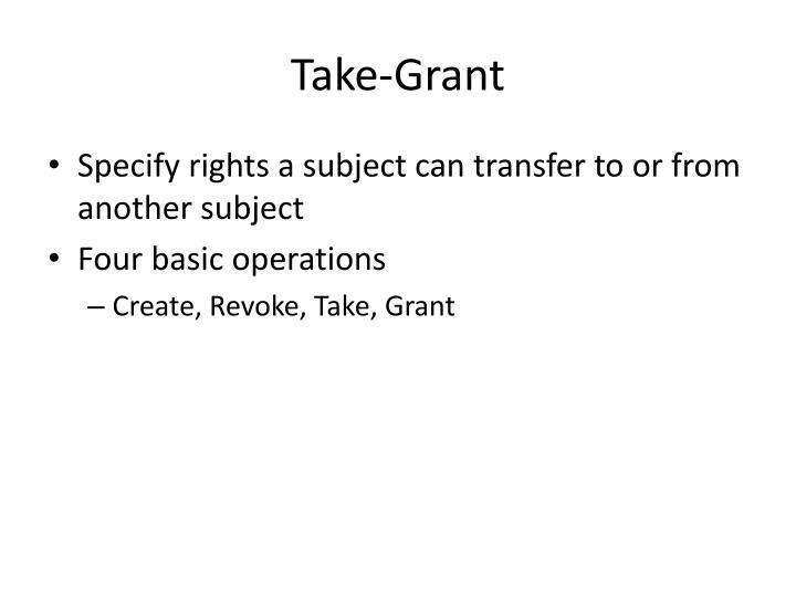 Take-Grant