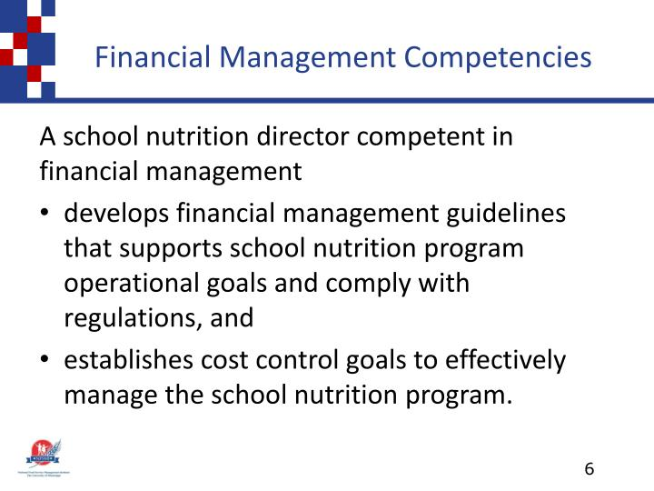 Financial Management Competencies