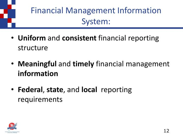 Financial Management Information System: