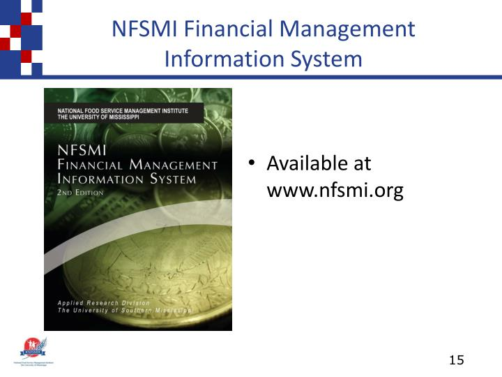 NFSMI Financial Management Information System