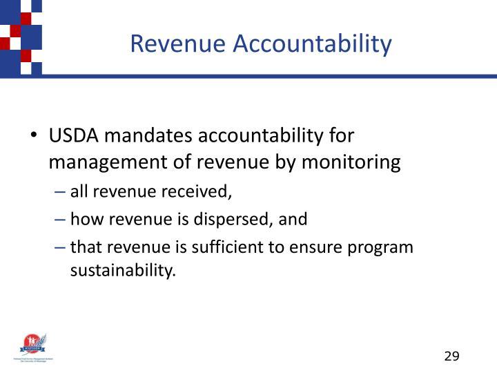 Revenue Accountability