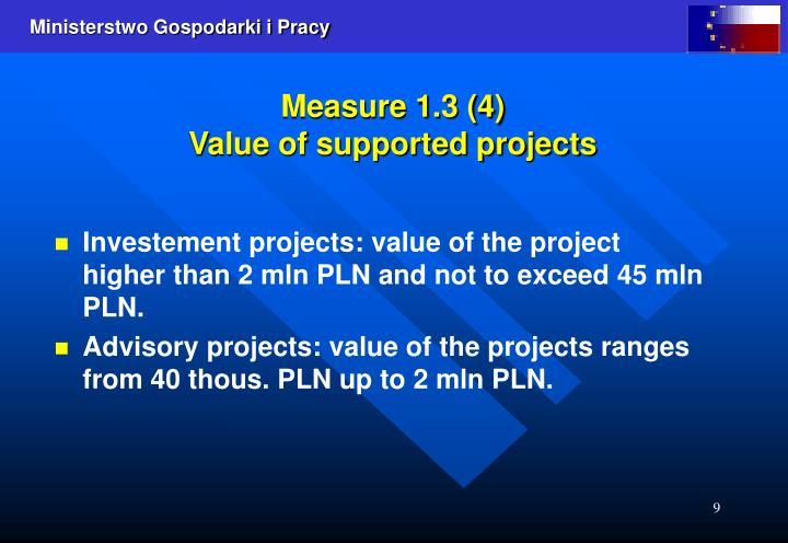 Measure 1.3 (4)