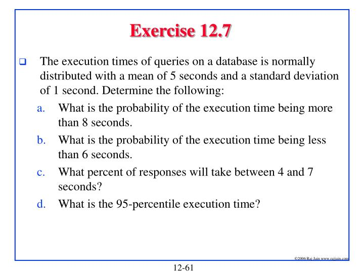 Exercise 12.7