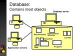 database contains most objects