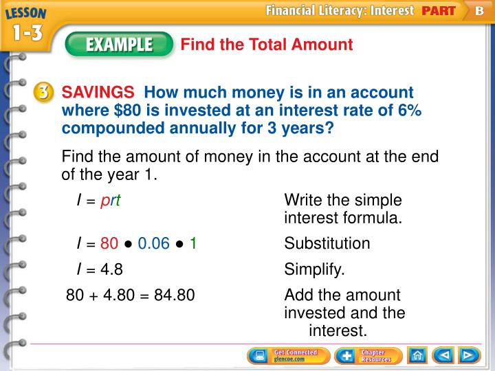 Find the Total Amount
