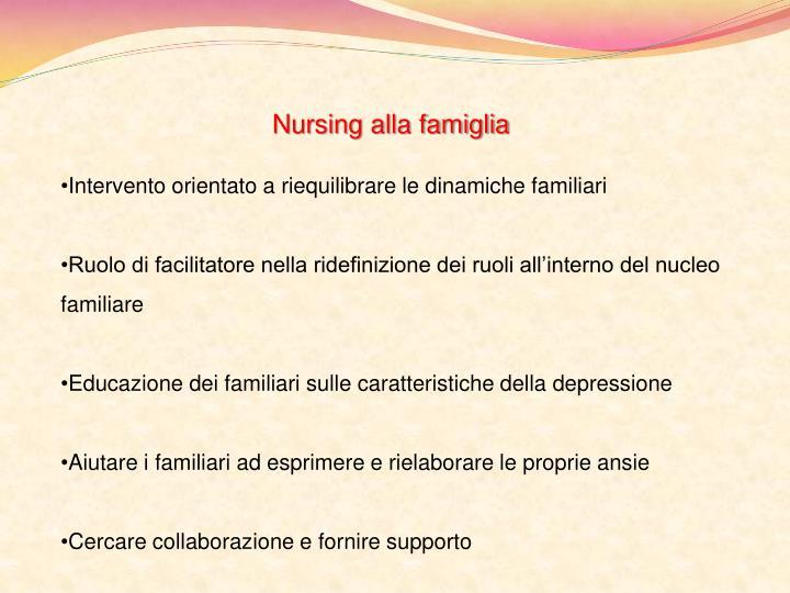 Nursing alla famiglia