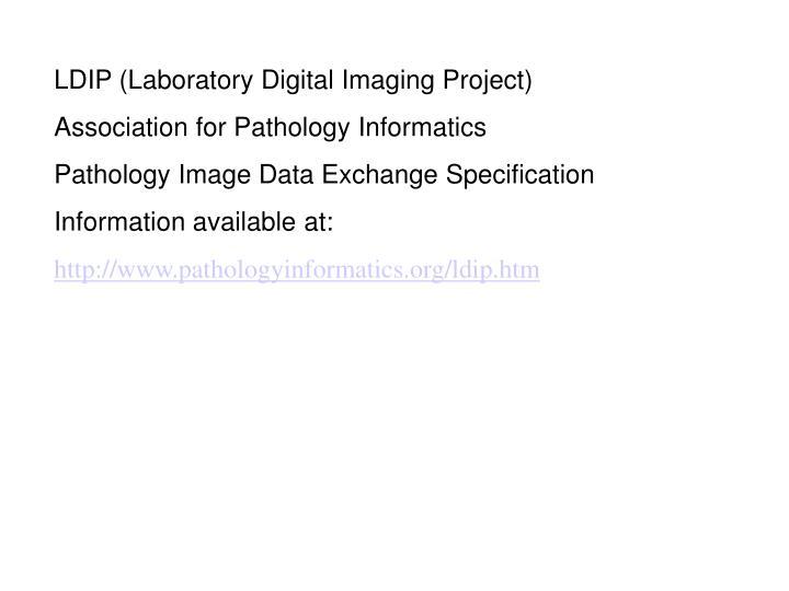 LDIP (Laboratory Digital Imaging Project)