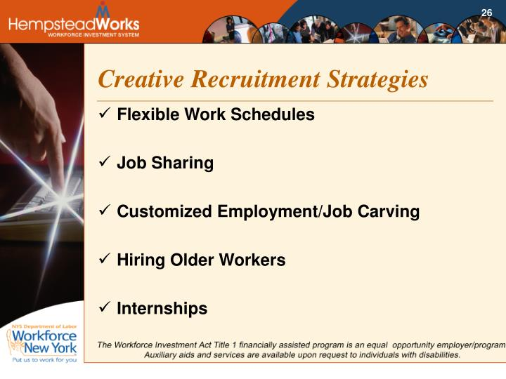 Creative Recruitment Strategies