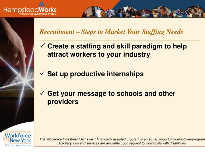 Recruitment – Steps to Market Your Staffing Needs