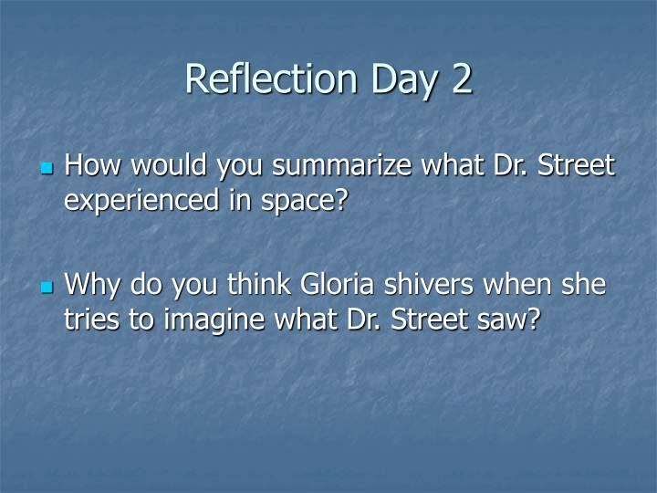 Reflection Day 2