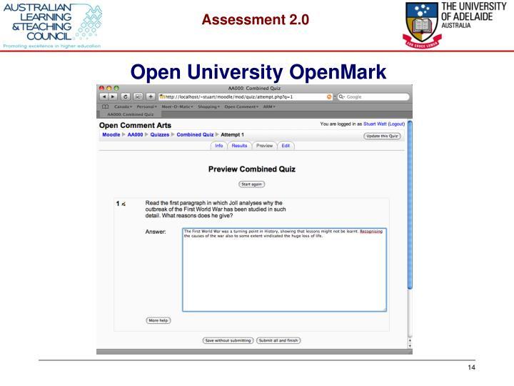 Open University OpenMark