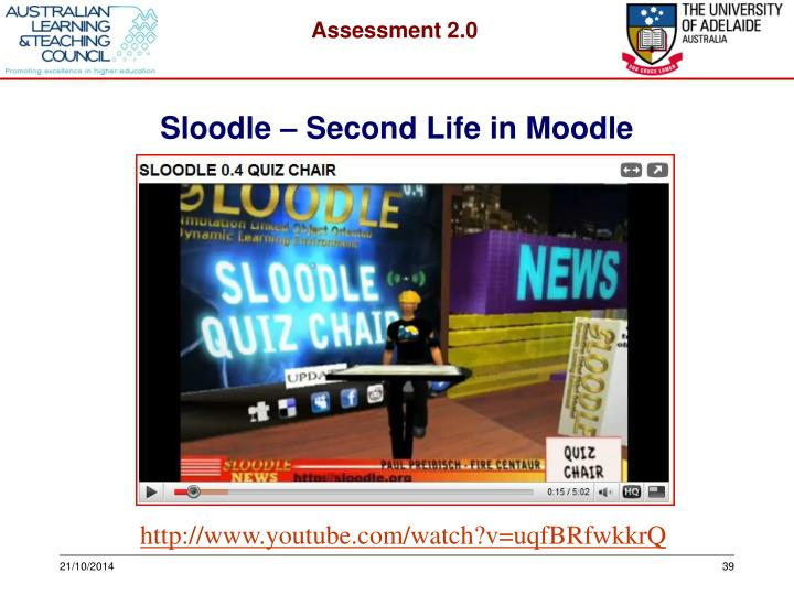 Sloodle – Second Life in Moodle