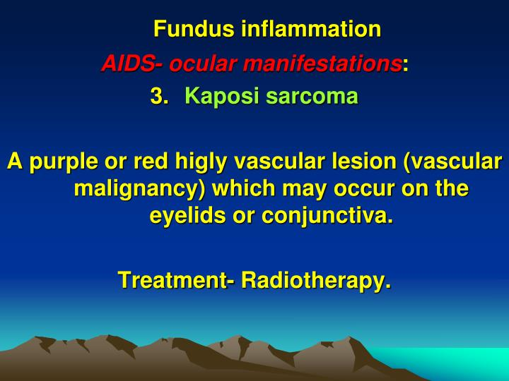 Fundus inflammation