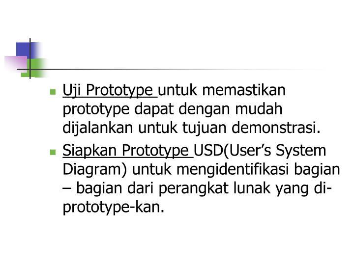 Uji Prototype