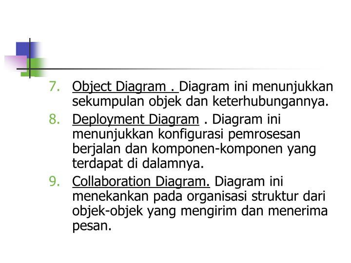 Object Diagram .