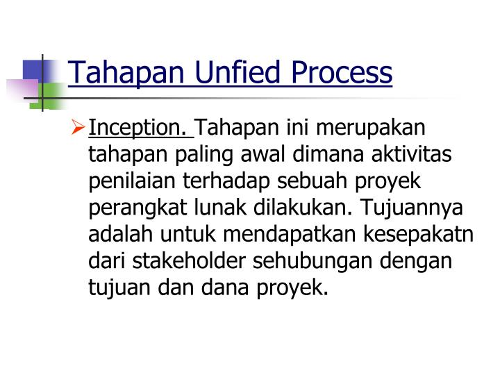 Tahapan Unfied Process