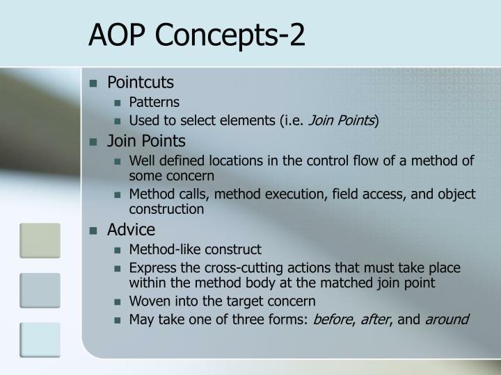 AOP Concepts-2