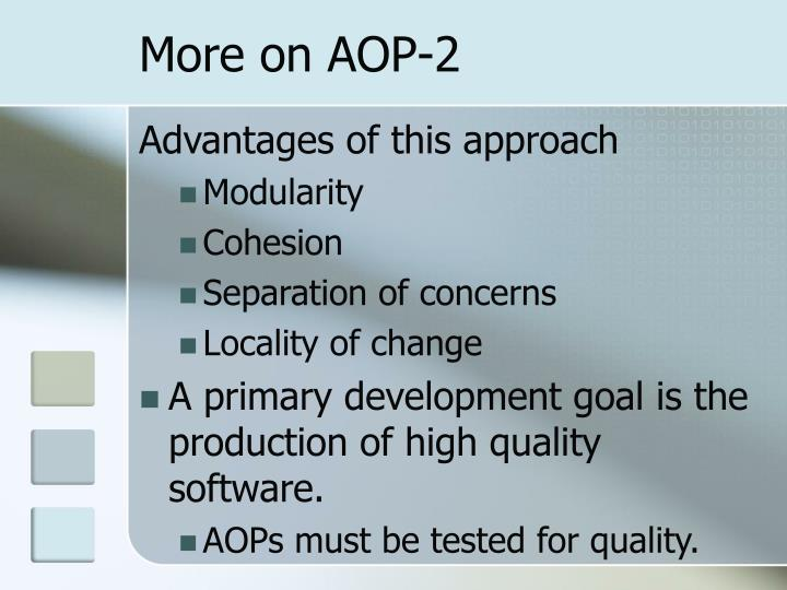 More on AOP-2