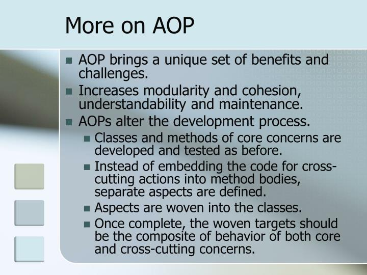 More on AOP