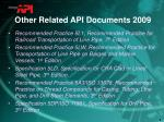 other related api documents 20091